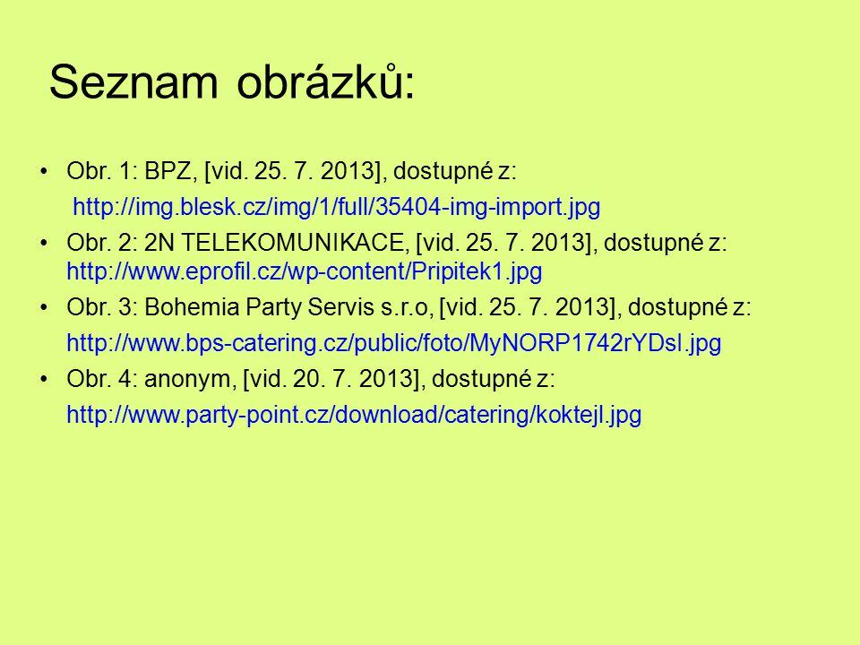 Seznam obrázků: Obr. 1: BPZ, [vid. 25. 7. 2013], dostupné z: